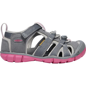 Keen Seacamp II CNX Sandals Ungdom steel grey/rapture rose